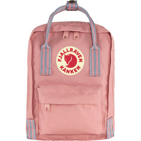 Fjällräven Kånken Mini Backpack Kids pink/long stripes